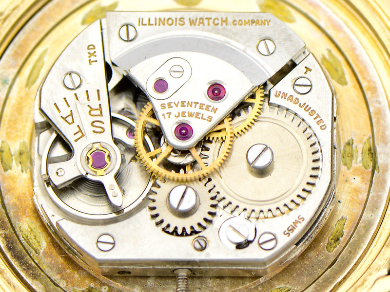 Hamilton Cross Country Vintage Watch Illinois Movement