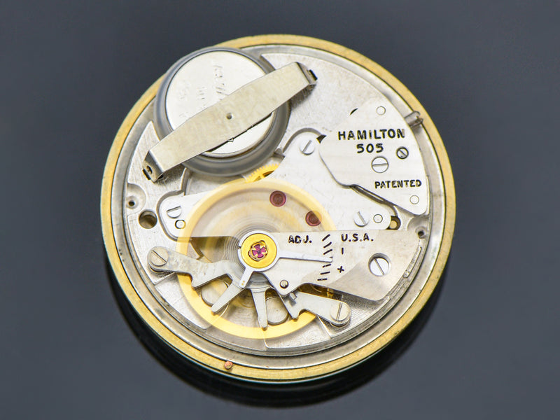 Hamilton Electric 14K Nautilus 200 Watch 505 Electric Movement | Vintage
