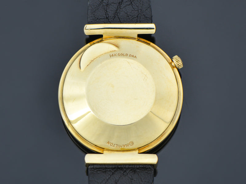 Hamilton Electric 14K Nautilus 200 Watch Case Back | Vintage