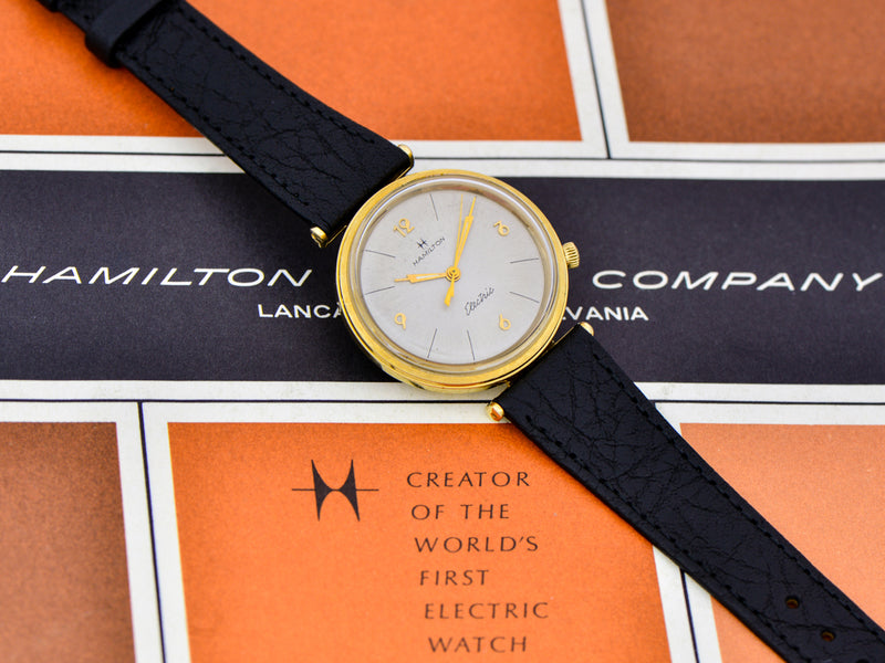 Hamilton Electric 14K Nautilus 200 Watch | Vintage