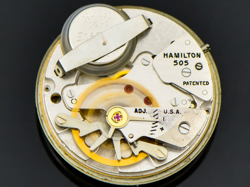 Hamilton Electric 14K Polaris II Award Watch 505 Electric Movement | Vintage