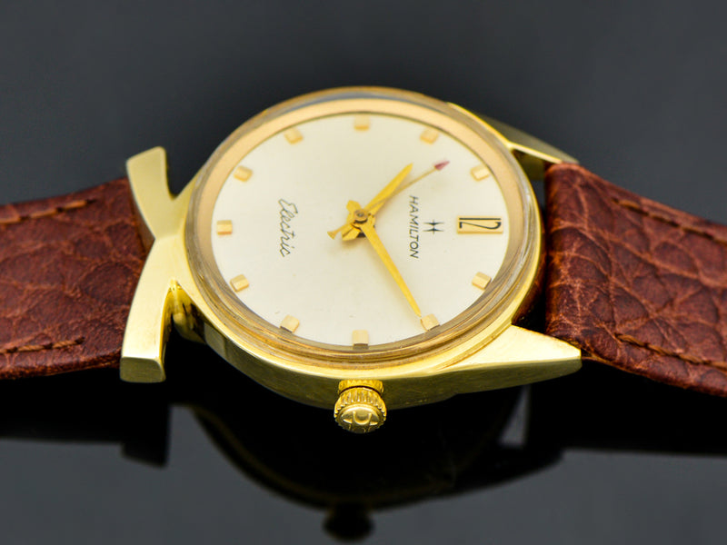 Hamilton Electric 14K Polaris II Award Watch | Vintage