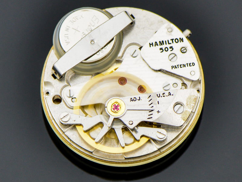 Hamilton Electric 14K Polaris II Watch 505 Electric Movement | Vintage