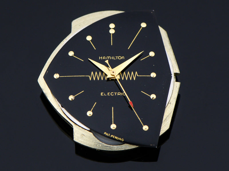 Hamilton Electric 14K Ventura Black Dial Vintage Watch Dial