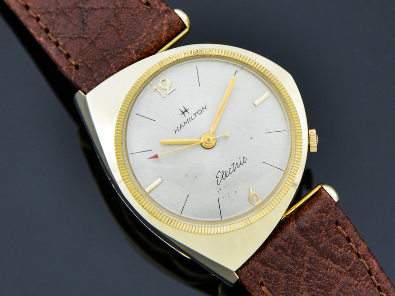 Hamilton Electric 14K Yellow Gold Savitar Watch | Vintage