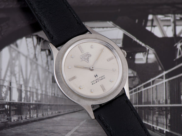 Hamilton Electric Armco Stainless Steel Watch
