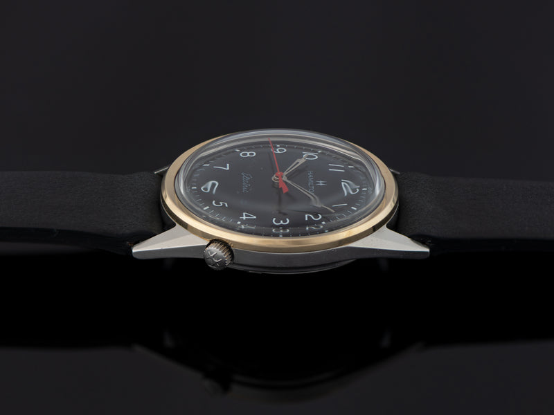 Hamilton Electric Clearview Black Dial Watch