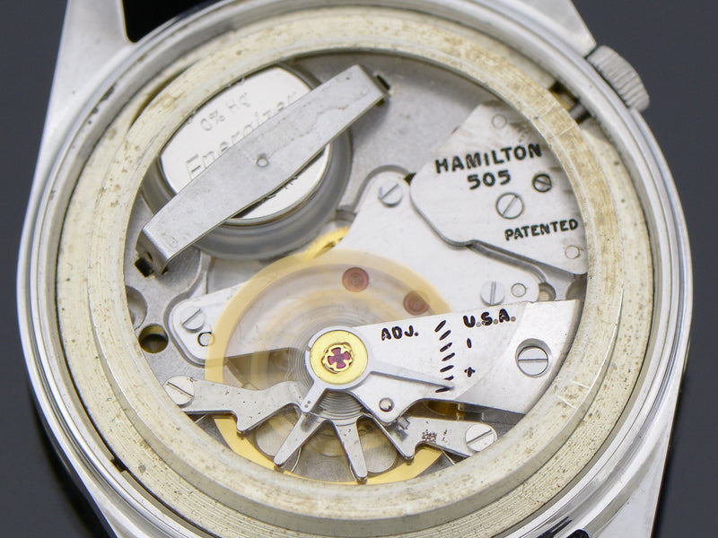 Hamilton Electric Converta II Vintage Watch 505 Electric Movement