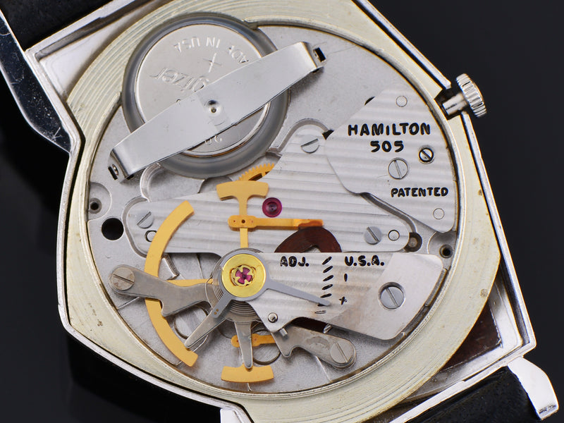 Hamilton Electric Custom Rhodium Rose Pacer Watch 505 Movement