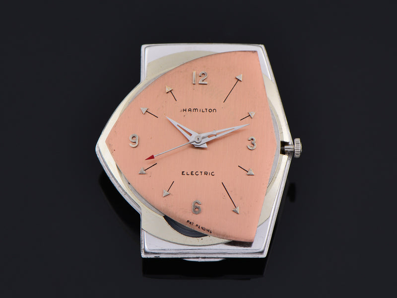 Hamilton Electric Custom Rhodium Rose Pacer Watch Dial