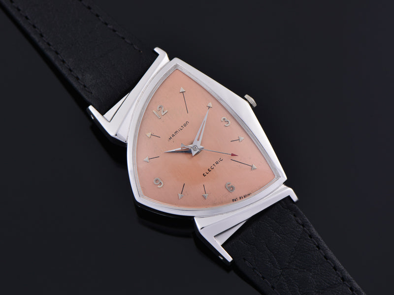 Hamilton Electric Custom Rhodium Rose Pacer Watch