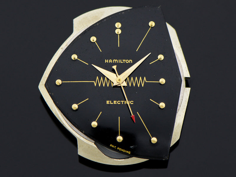 Hamilton Electric GE Breakthrough 60 14K Gold Pacer (Ventura II) Vintage Watch Dial