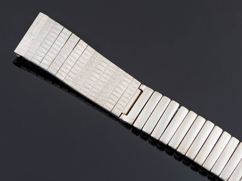Hamilton Electric Gemini White Gold Filled Watch Bracelet