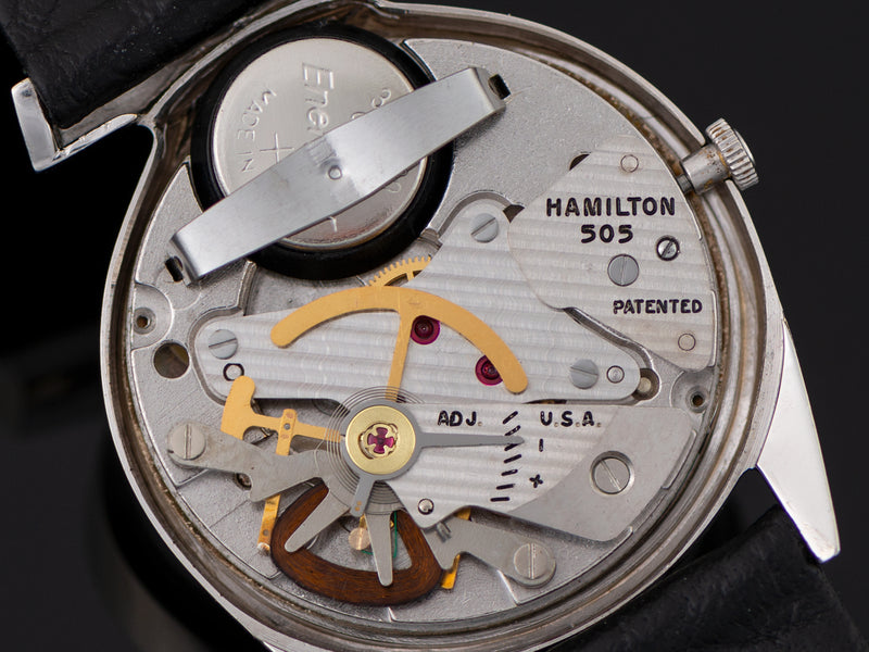 Hamilton Electric Lord Lancaster E Watch 505 Electric Movement