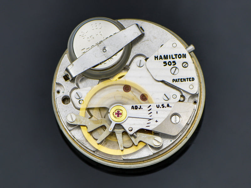 Hamilton Electric Masonic Dial Savitar II Watch Movement | Vintage