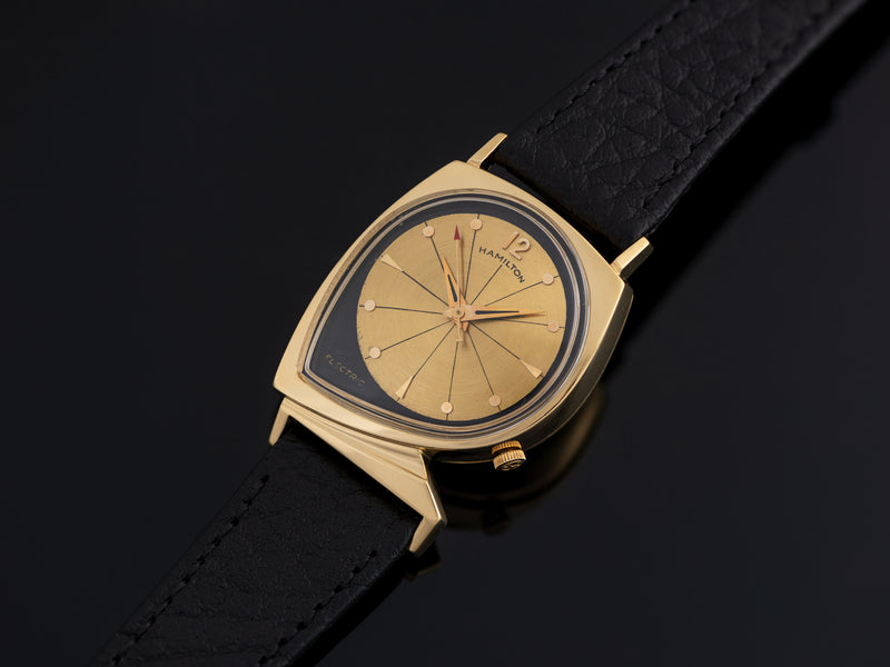Hamilton Electric Meteor Original Finish Black/Gold Dial Watch