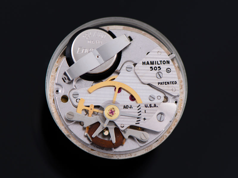 Hamilton Electric Nautilus 401 505 Electric Watch Movement