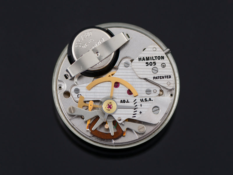 Hamilton Electric Nautilus 450 505 Electric Watch Movement