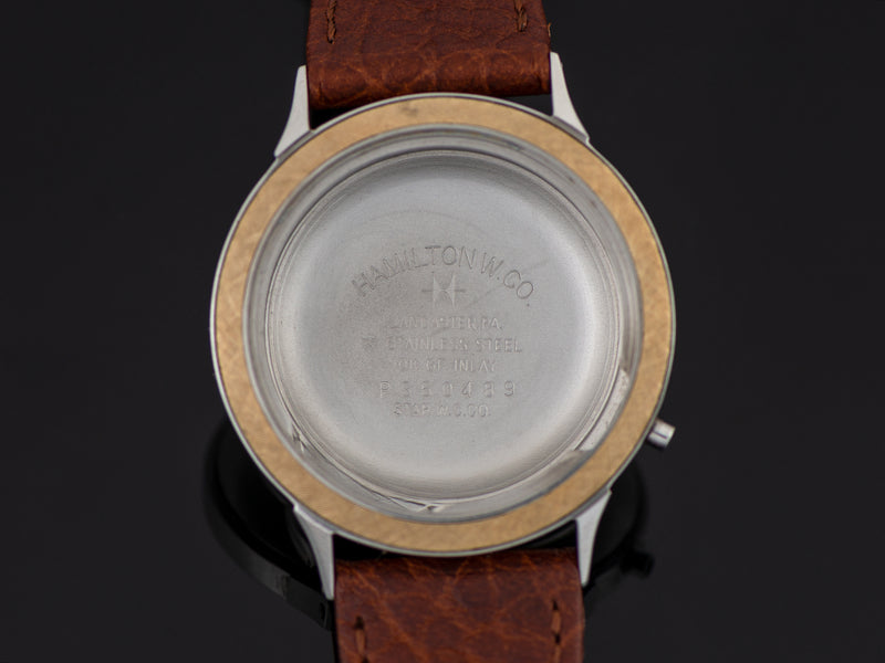 Hamilton Electric Nautilus 450 New Old Stock Inner Watch Case Back