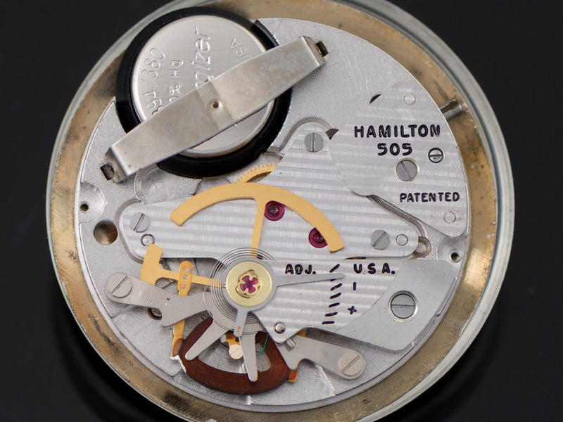 Hamilton Electric Nautilus 501 505 Electric Watch Movement
