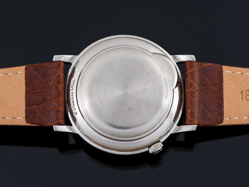 Hamilton Electric Nautilus 503 Or 508 Stainless Steel Watch Case Back