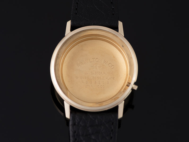Hamilton Electric Nautilus 601 Inner Watch Case Back