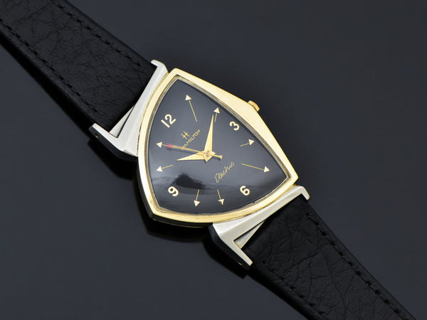 Hamilton Electric Pacer 505 Style Black Dial Watch