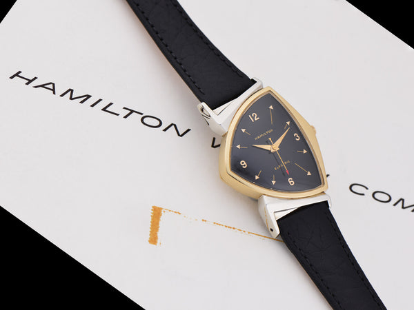 Hamilton Electric Pacer Black Dial Watch