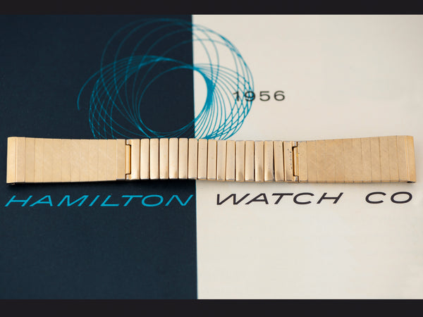 Hamilton Electric Pacer Florentine Watch Bracelet