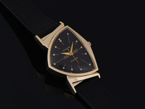 Hamilton Electric Pacer GE Breakthru '60 14K Gold (Ventura II) Watch