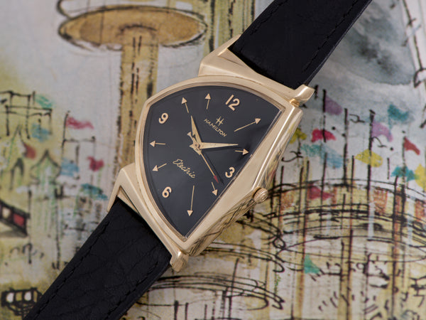 Hamilton Electric Pacer Kraft 14K Gold (Ventura II) Watch