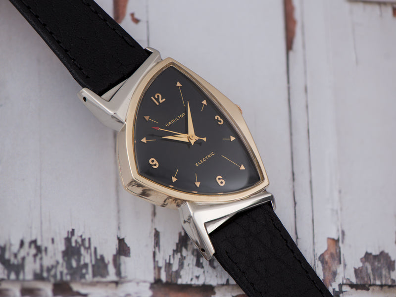 Hamilton Electric Pacer Original Finish Black Dial Watch