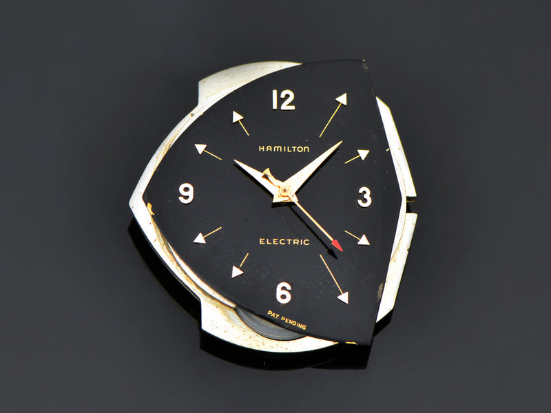 Hamilton Electric Pacer Original Finish Black Watch Dial