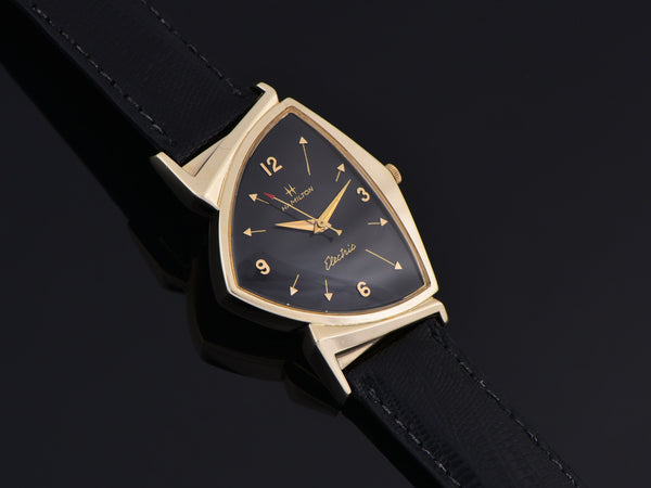 Hamilton Electric Pacer Sanders & Thomas 14K Gold (Ventura II) Watch