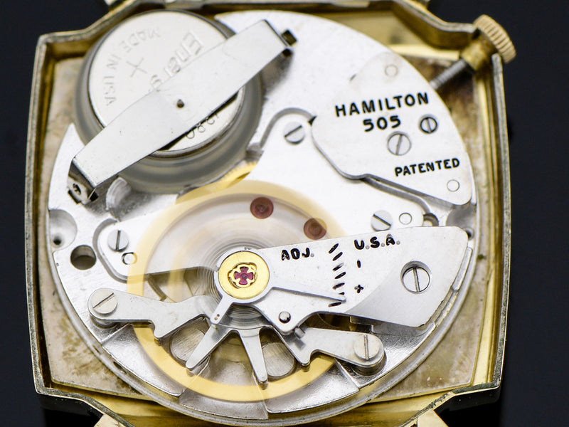Hamilton Electric Pegasus Watch 505 Electric Movement | vintage