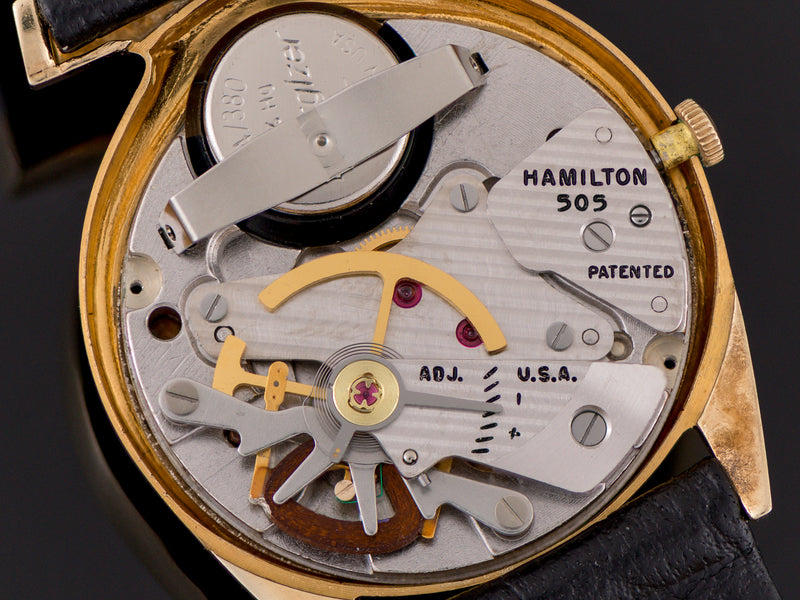 Hamilton Electric Polaris 14K 505 Electric Watch Movement