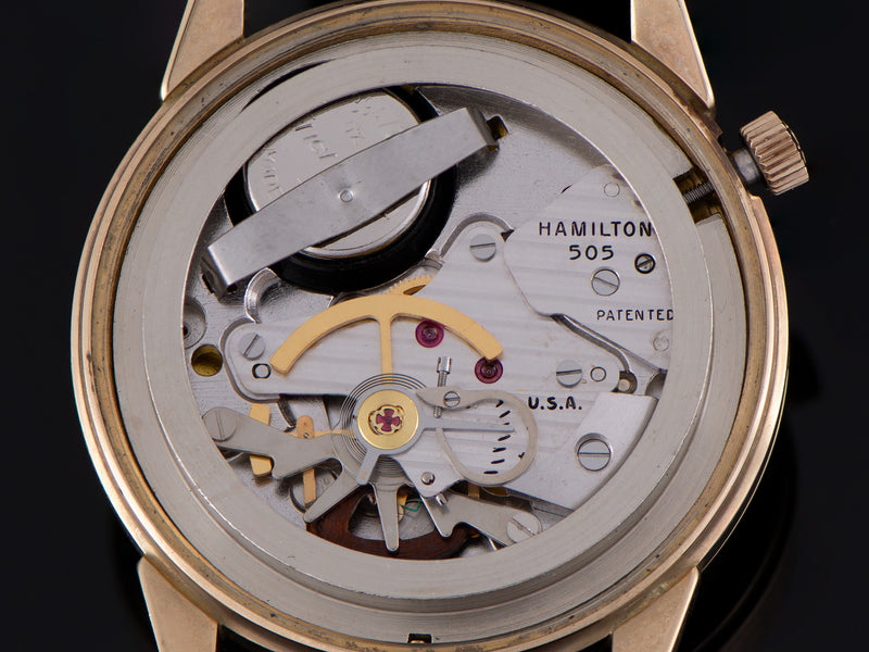 Hamilton Electric RR Special 52 Watch 505 Electric Movement