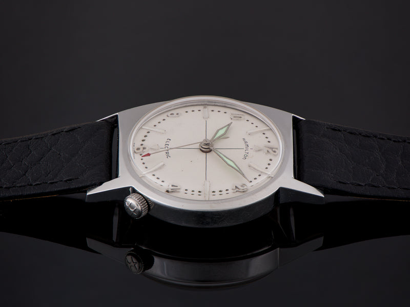 Hamilton Electric Regulus Stainless Steel Asymmetric Watch