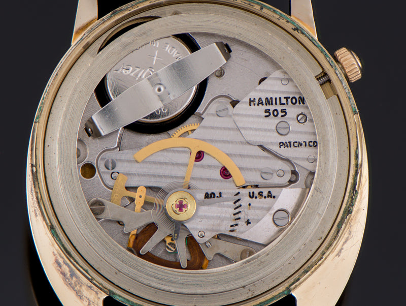Hamilton Electric Saturn 505 Electric Watch Movement