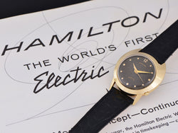 Hamilton Electric Spectra Original Finish Black Dial Watch