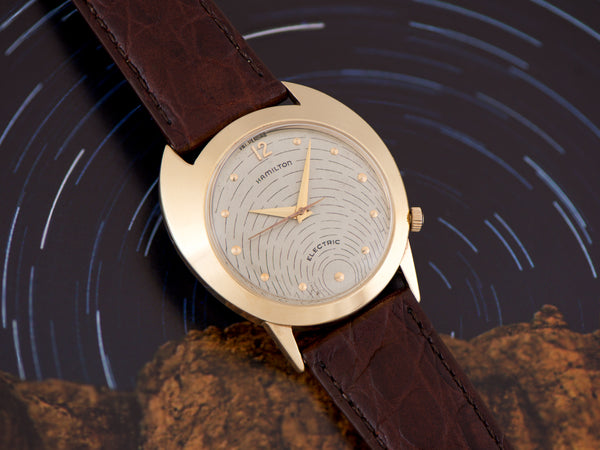Hamilton Electric Spectra Original Finish Silver Dial Watch
