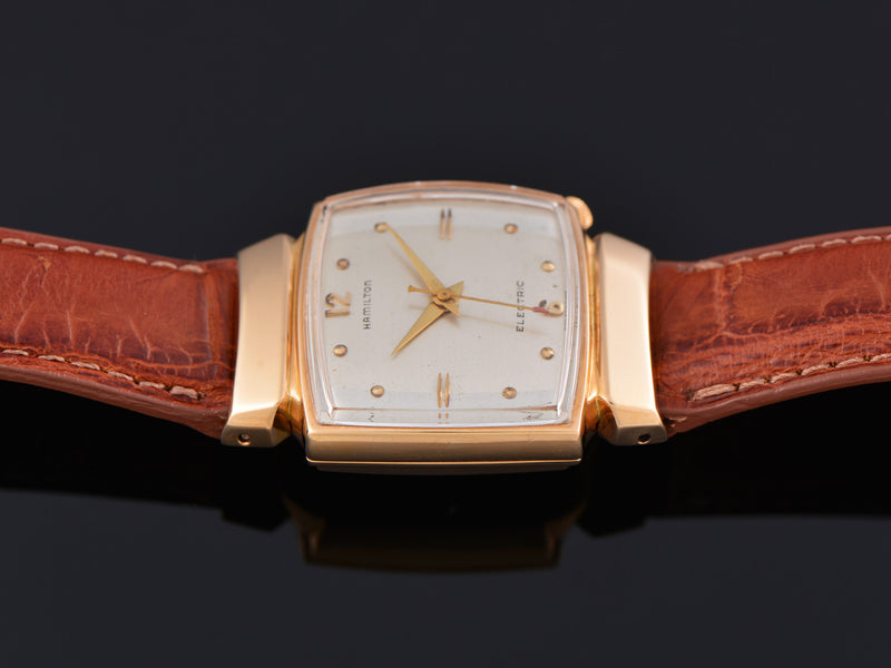 Hamilton Electric Vantage 18K Rose Gold Original Silver Dial & 502 Movement