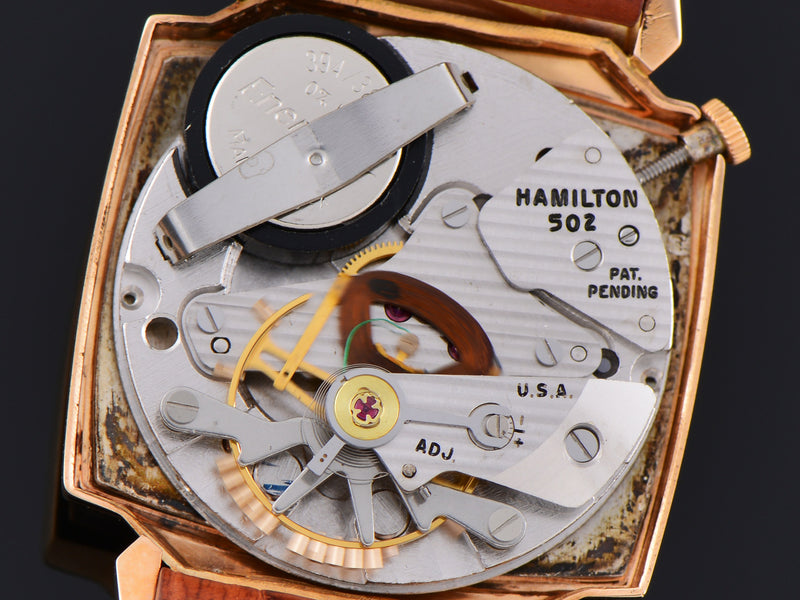 Hamilton Electric Vantage 18K Rose Gold 502 Electric Movement