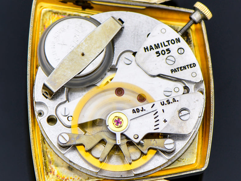 Hamilton Electric Vega Watch 505 Electric Movement