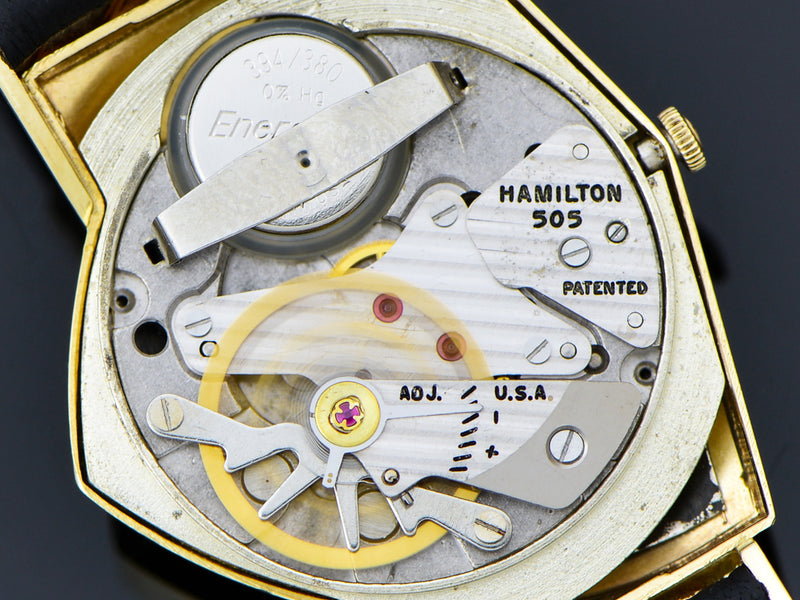 Hamilton Electric Ventura 14K Gold 505 Electric Watch Movement