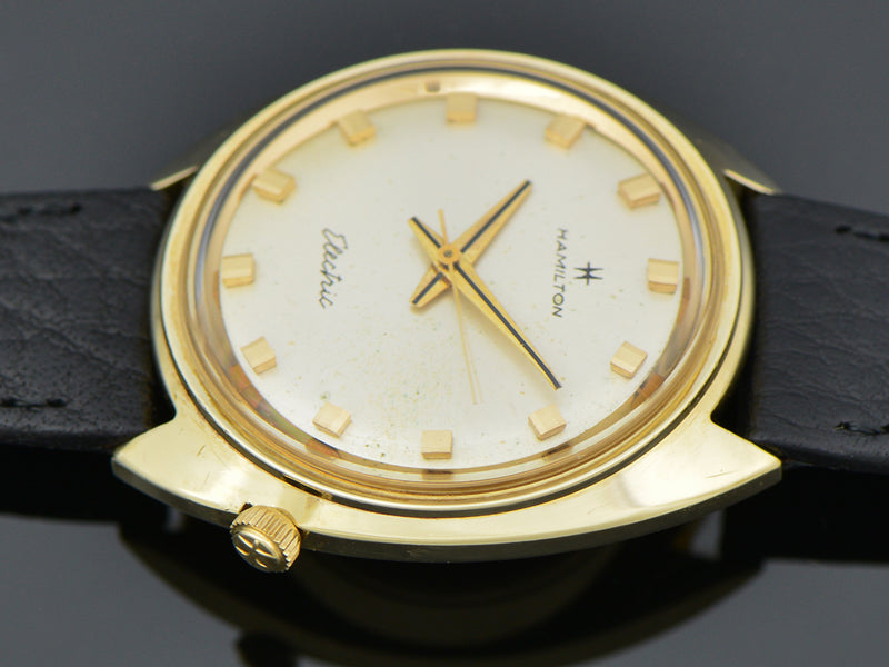 Hamilton Electric 14K Nautilus 202 Watch | Vintage
