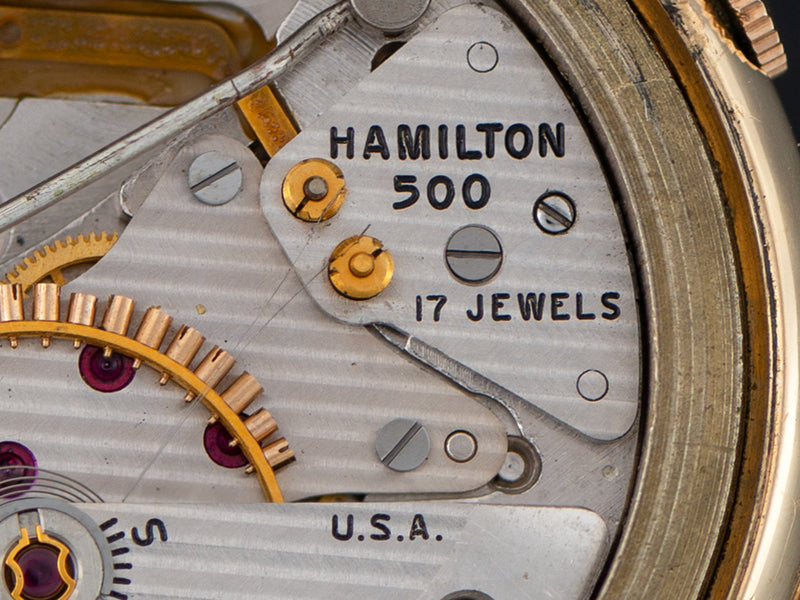 Hamilton Electric Wear Test PROTOTYPE 500 Watch Movement Contact and Trip Wire