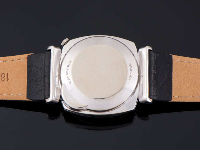 Hamilton Electric White Gold Filled Gemini Watch Case Back