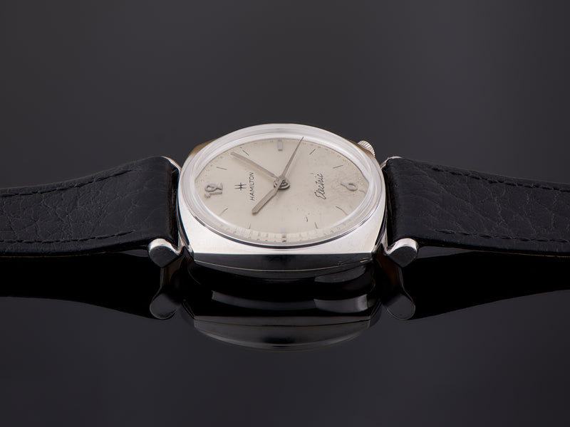 Hamilton Electric White Gold Filled Gemini Watch