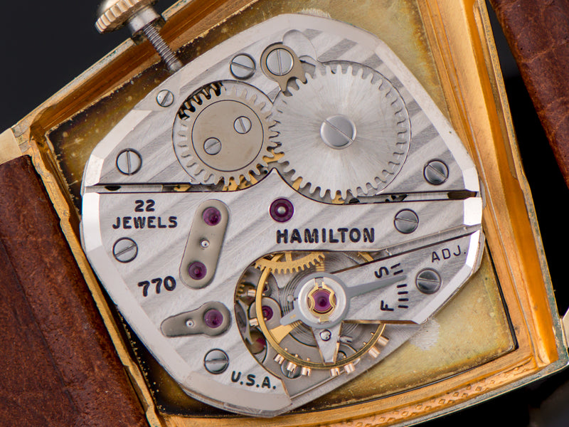 Hamilton Flight II Manual Wind 770 Watch Movement
